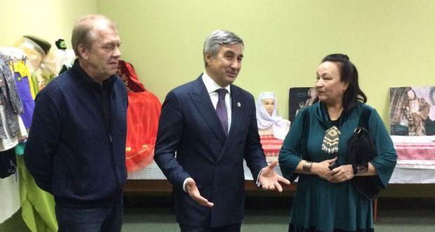 Василь Шайхразиев посетил татаро-башкирский общественно-культурный центр г.Алматы
