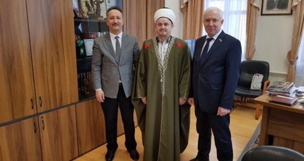 Ринат Закиров встретился с имам-мухтасибом Сызрани
