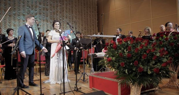 Concert of Tatar music  in Almaty  held