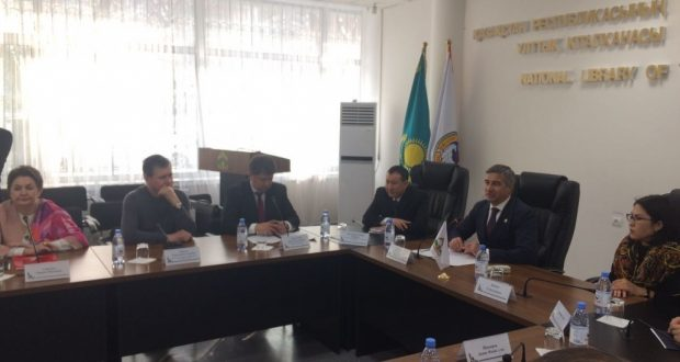 Алматы шәһәренең татар-башкорт берләшмәләре вәкилләре белән очрашу