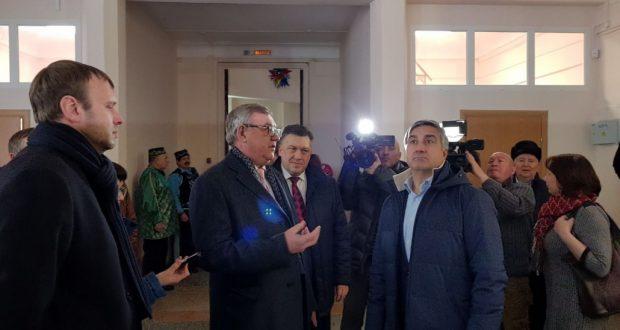 Председатель Нацсовета посетил «Дом народного творчества «Спартак»