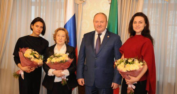 Равиль Ахметшин встретился с представителями Клуба деятелей культуры и искусства