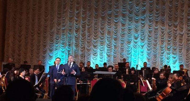 Концерт татарской музыки в Алмате