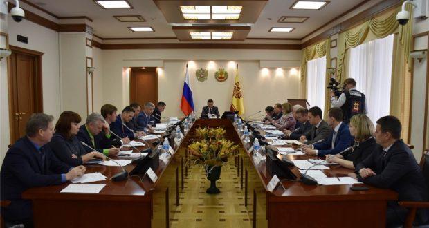 В Доме Правительства состоялось заседание рабочей группы по подготовке и проведению в 2018 году в г. Чебоксары XVIII Федерального Сабантуя
