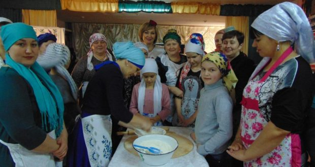 Master-class on Tatar dishes in the village of Reshetino