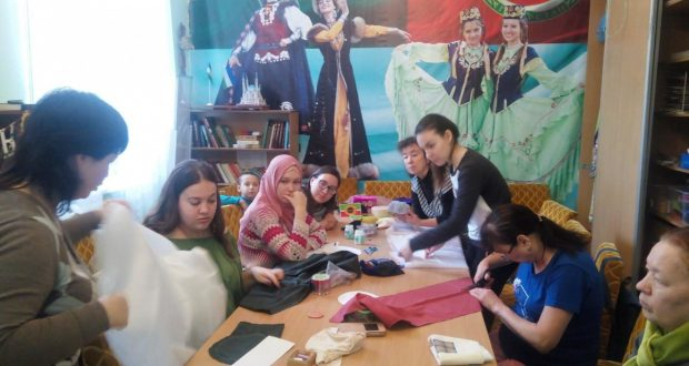 Краснодарские рукодельницы учились шить калфак