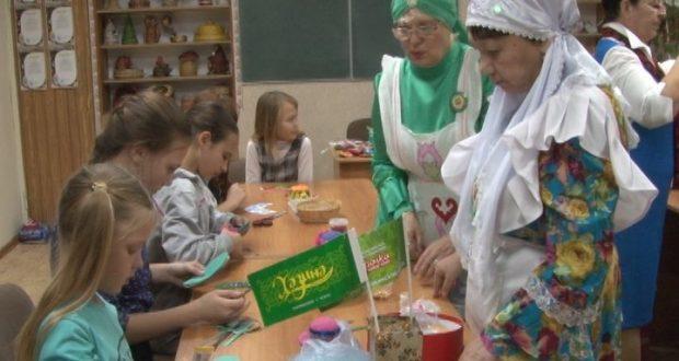 Мастер-класс от ассоциации татарских женщин «Ак калфак»