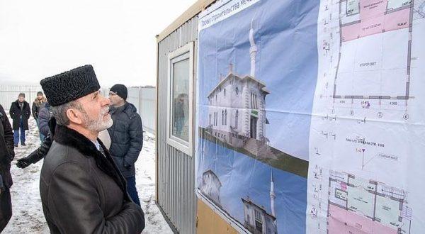 Строительство новой мечети стартовало под Симферополем