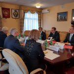 Василь Шайхразиев встретился с членами Правительства Хабаровского края