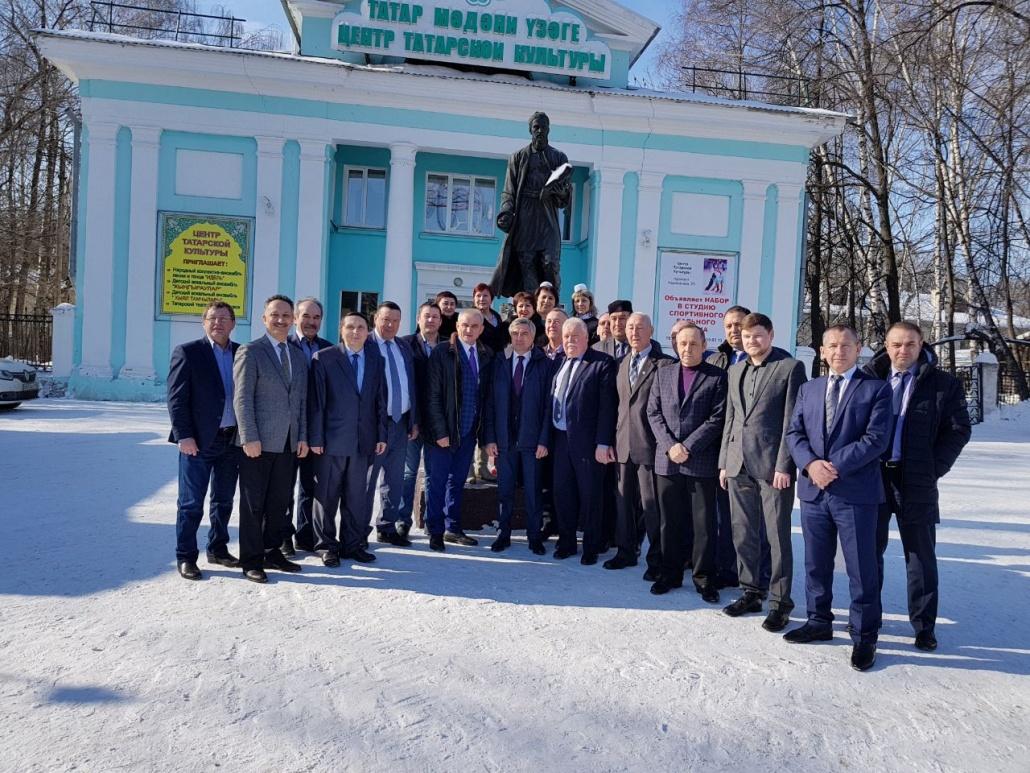 встреча руководителей татарских организаций ПФО