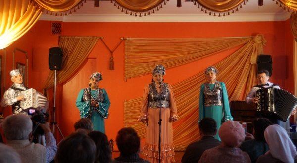 Ансамбль татарской песни «Мирас» выступил на сцене  Лыткарино