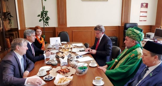 Встреча в Законодательном Собрании Челябинской области