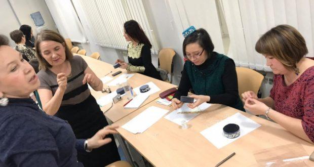 Чиләбедә чигү буенча мастер-класс узды