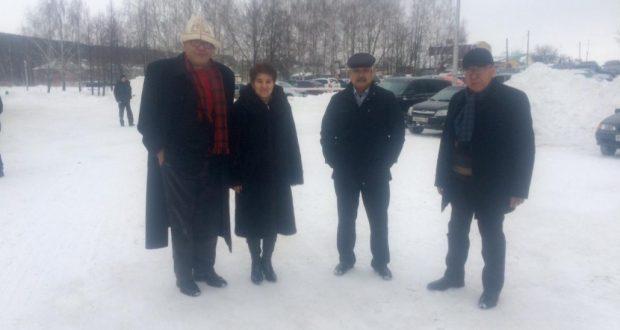 Чынгыз Айтматов турында кино төшерергә килгән Кыргызстан делегациясе — Кукмарада