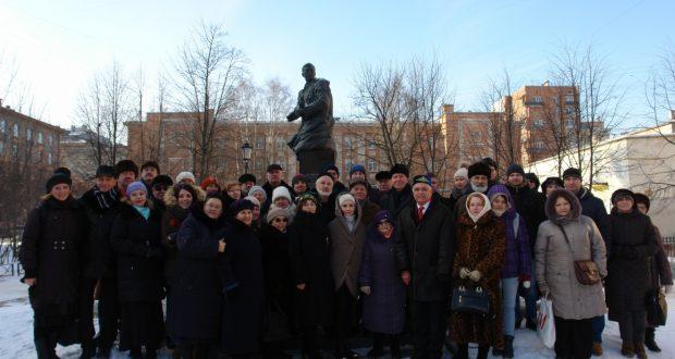 В Санкт-Петербурге отметили 112-ю годовщину со дня рождения  поэта-воина Мусы Джалиля.