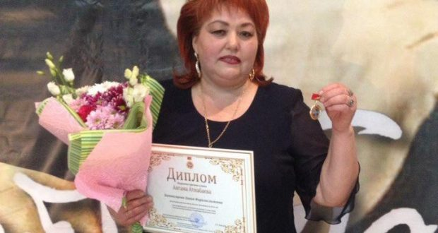 Хәния Фәрхи Әнгам Атнабаев премиясе лауреаты булды