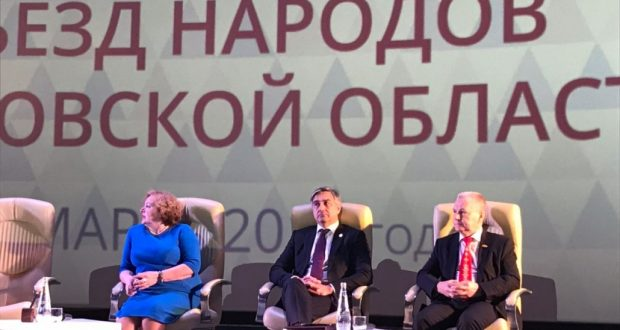 Василь Шайхразиев принял участие на съезде народов Ульяновской области