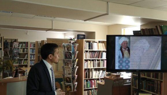 В «Татарской гостиной» состоялась просветительская лекция «Жизнь и наследие Ш. Марджани»