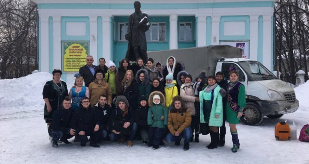 Ульяновск сәхнәсендә әтнәлеләр