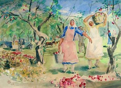 В Московском Музее Востока представлены картины Баки Урманче