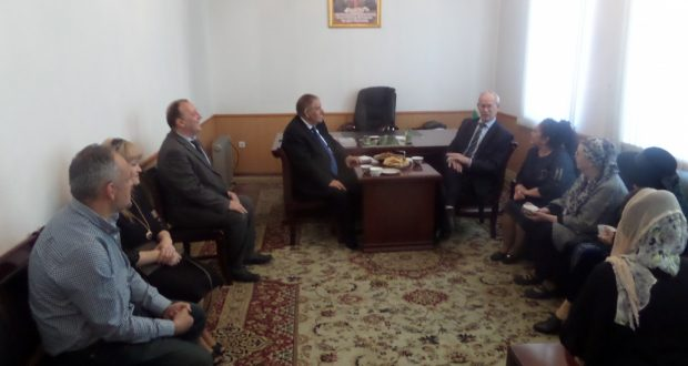 Хатип Миннегулов в Таджикистане встретился с членами татаро-башкирского общественно-культурного центра «Дуслык»