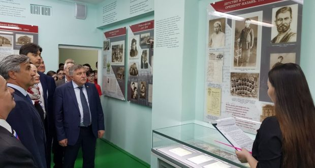 Нижневартовскның «Патриот» үзәгендә Муса Җәлил исемендәге музей залы ачылды