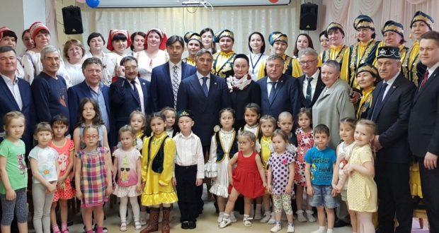 Василь Шайхразиев посетил детский сад «Росинка» г.Нижневартовска