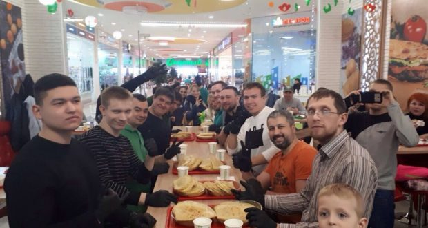 Surgut hosted a tournament on eating kystyby and bavyrsak