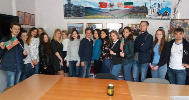 Студенты Алтайского государственного университета познакомились с татарской культурой