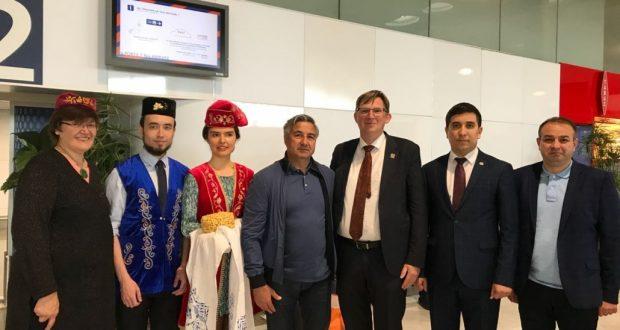 Василь Шайхразиев прибыл с рабочим визитом в Париж