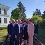 Василь Шайхразиев посетил школу имени Г.Тукая в городе Димитровграде