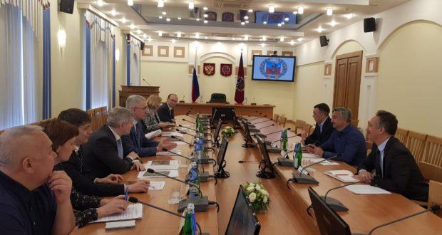 Председатель Национального совета встретился с представителями правительства Алтайского края