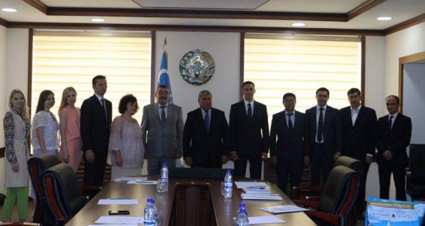 Визит делегации Министерства по делам молодежи и спорту Республики Татарстан в Республику Узбекистан