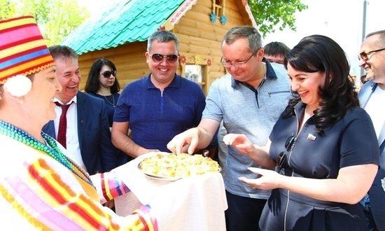На Сабантуе в Астрахани поучаствовали гости из Татарстана