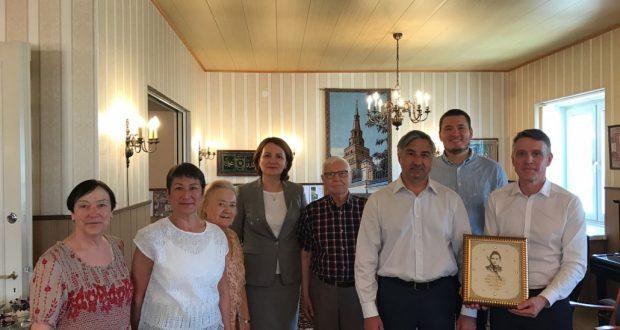 Председатель Национального совета пообщался с татарами г.Тампере
