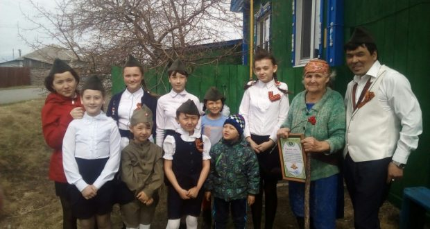 В Тюмени поздравили ветеранов