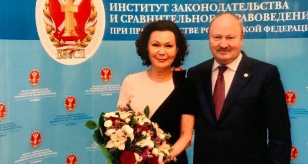 Академик Талия Хабриева награждена орденом Республики Татарстан «Дуслык»