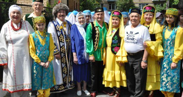 В Киеве Сабантуй начался с исполнения гимна Украины на татарском языке