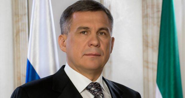Татарстан Президенты Рөстәм Миңнеханов республика халкын Россия көне белән тәбрикләде