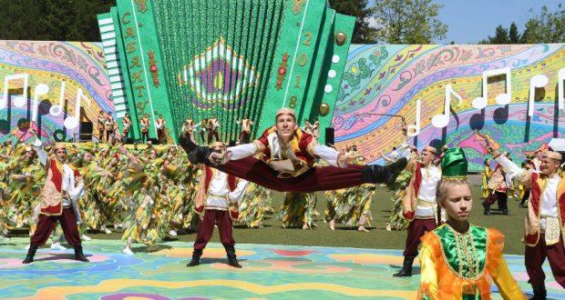 Сабантуй в Казани отметили 218 тысяч человек