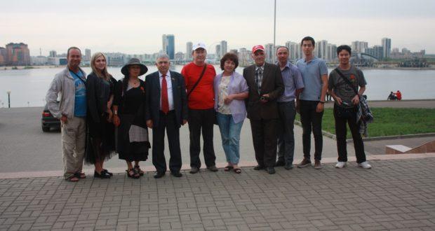 Гости из Казахстана побывали в столице Татарстана
