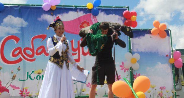 В Казахстане в городе Кокшетау Сабантуй прошёл в 18-й раз