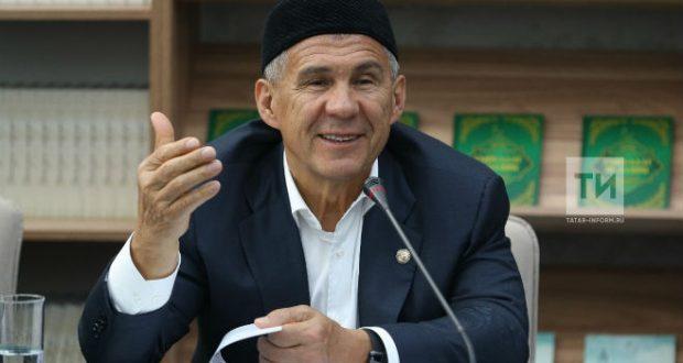 Рустам Минниханов поздравил татарстанцев с праздником Ураза-байрам