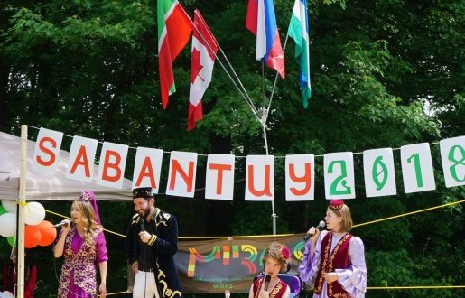 In Montreal Sabantuy took place