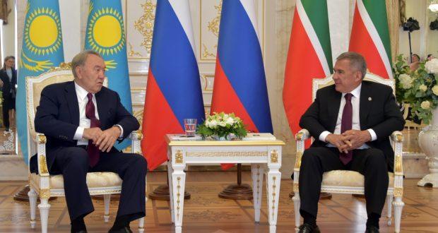 Визит Нурсултана Назарбаева в Республику Татарстан