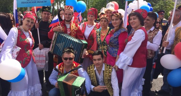 Парад национальностей, посвященный 355-летию Пензы