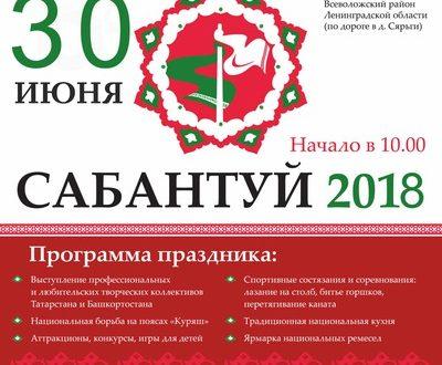 Ленинград өлкәсе Дуслык йортында «Сабантуй» бәйрәме тәкъдим ителә