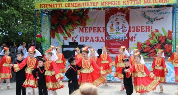 В Казахстане провели Первый детский Сабантуй