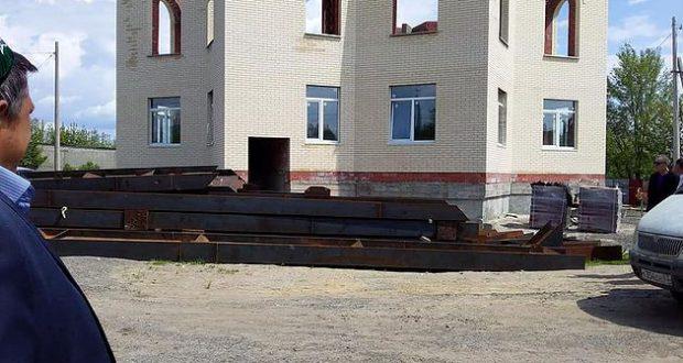 После помощи из Татарстана строительство Сызранской Соборной мечети пошло активными темпами