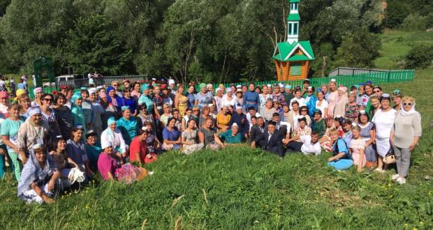 Открытие родника «Мулла чишмэсе» в д. Кушлавыч Арского района